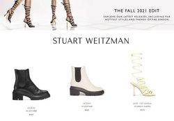 Stuart Weitzman deals in the Stuart Weitzman catalog ( More than a month)