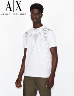 Luxury brands deals in the Armani Exchange catalog ( More than a month)