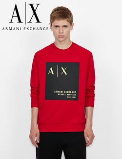Luxury brands deals in the Armani Exchange catalog ( Expires tomorrow)