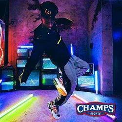 Champs Sports deals in the Houston TX weekly ad