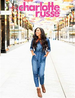 Charlotte Russe deals in the Dallas TX weekly ad