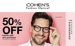 Opticians & Sunglasses deals in the Cohen's Fashion Optical catalog ( 5 days left)