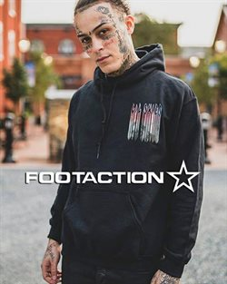 FootAction catalogue ( More than a month )