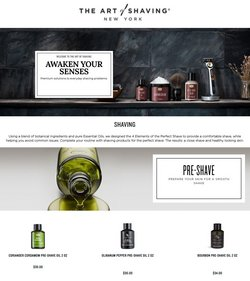 Beauty & Personal Care deals in the The Art of Shaving catalog ( 18 days left)