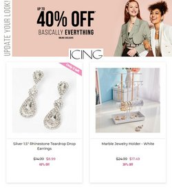 Jewelry & Watches deals in the Icing catalog ( 2 days left)