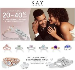 Jewelry & Watches offers in the Kay Jewelers catalogue in Richmond VA ( Expires tomorrow )
