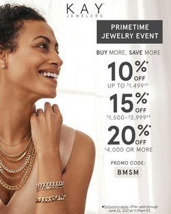 Jewelry & Watches deals in the Kay Jewelers catalog ( Expires tomorrow)