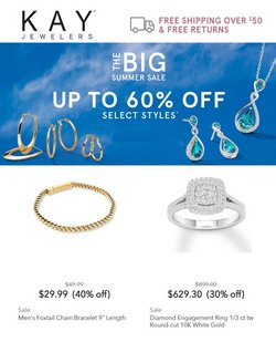Jewelry & Watches deals in the Kay Jewelers catalog ( 9 days left)