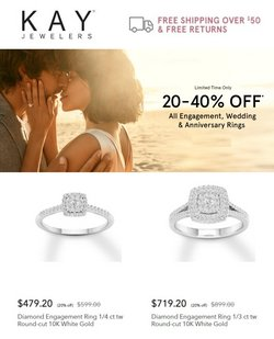 Jewelry & Watches deals in the Kay Jewelers catalog ( 10 days left)