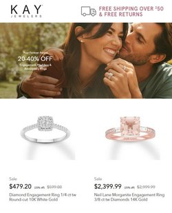 Jewelry & Watches deals in the Kay Jewelers catalog ( 8 days left)