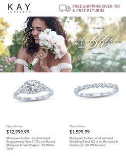 Jewelry & Watches deals in the Kay Jewelers catalog ( 5 days left)