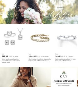Jewelry & Watches deals in the Kay Jewelers catalog ( 2 days left)