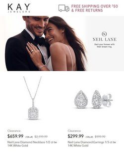 Jewelry & Watches deals in the Kay Jewelers catalog ( 7 days left)