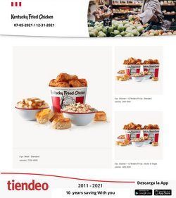 KFC deals in the KFC catalog ( More than a month)