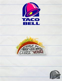 Taco Bell deals in the Oklahoma City OK weekly ad