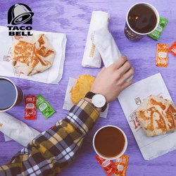 Taco Bell deals in the Houston TX weekly ad