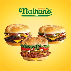 Nathan's Famous Frankfurters deals in the West Nyack NY weekly ad