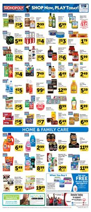 Fabric softener deals in the Vons weekly ad in Los Angeles CA