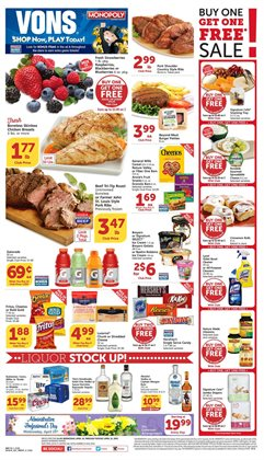 Games deals in the Vons weekly ad in Burbank CA