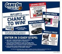 Games deals in the Vons weekly ad in Fullerton CA