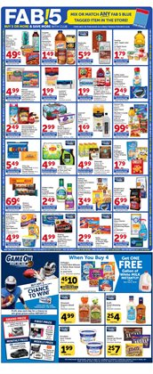 Milk deals in the Vons weekly ad in Van Nuys CA