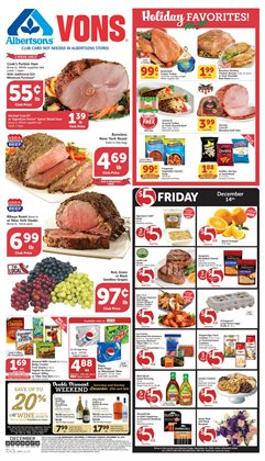 Wine deals in the Vons weekly ad in Las Vegas NV