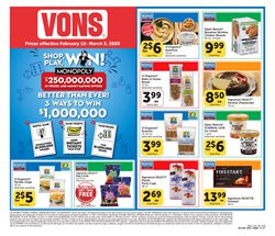 Vons catalogue in Santa Ana CA ( 11 days left )