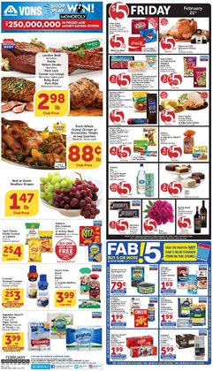Vons catalogue in Santa Ana CA ( Expires today )