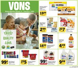 Grocery & Drug offers in the Vons catalogue in San Luis Obispo CA ( 10 days left )