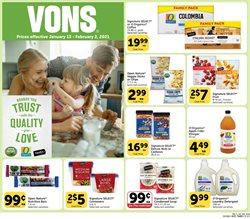 Vons catalogue ( 15 days left )