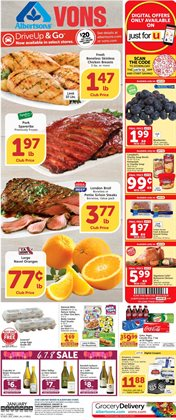 Grocery & Drug offers in the Vons catalogue in North Las Vegas NV ( 2 days ago )