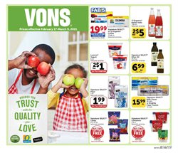Grocery & Drug offers in the Vons catalogue in Montebello CA ( 6 days left )