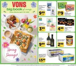 Vons catalogue ( 5 days left )