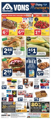 Grocery & Drug deals in the Vons catalog ( Published today)