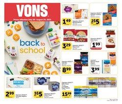 Vons deals in the Vons catalog ( 19 days left)