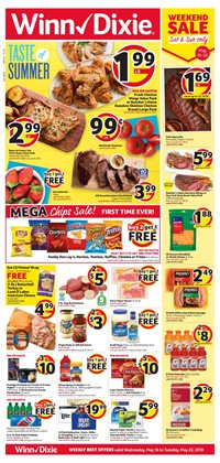 Winn Dixie Jacksonville FL Weekly Ads Coupons May