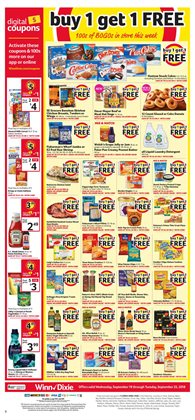 Bags deals in the Winn Dixie weekly ad in Largo FL