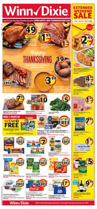 Top deals in the Winn Dixie weekly ad in Bessemer AL