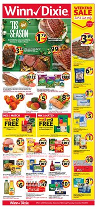 Chicken deals in the Winn Dixie weekly ad in Saint Augustine FL