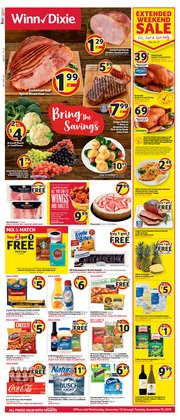 Grocery & Drug deals in the Winn Dixie weekly ad in West Palm Beach FL