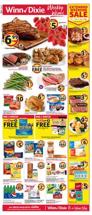 Grocery & Drug offers in the Winn Dixie catalogue in Jacksonville FL ( 2 days ago )
