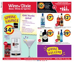 Grocery & Drug offers in the Winn Dixie catalogue in Spring Hill FL ( 24 days left )