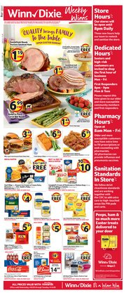 Winn Dixie catalogue ( 2 days ago )