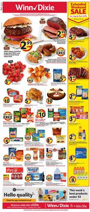Winn Dixie catalogue ( 3 days left )