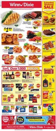 Winn Dixie deals in the Winn Dixie catalog ( Published today)