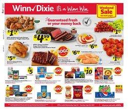 Grocery & Drug deals in the Winn Dixie catalog ( 3 days left)