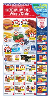 Winn Dixie deals in the Miami FL weekly ad