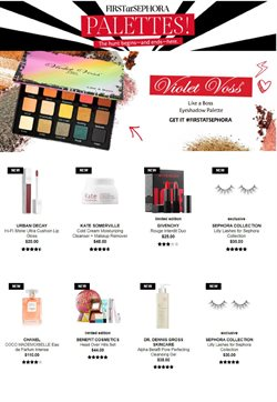 Makeup deals in the Sephora weekly ad in Whittier CA