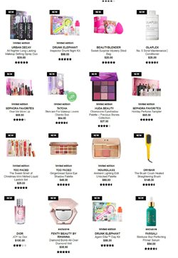 Makeup deals in the Sephora weekly ad in New York
