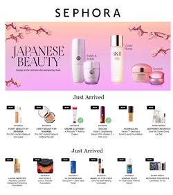 Sephora deals in the Houston TX weekly ad